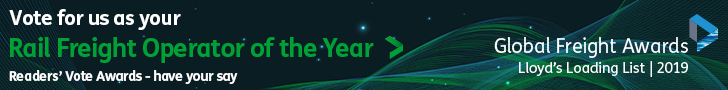 Readers' Vote Awards - Votes for us as your Rail Freight Operator of the Year
