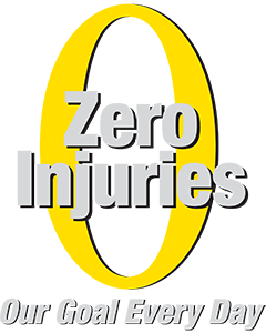 Our goal every day is zero injuries