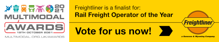 Readers' Vote Awards - Vote for us as your Rail Freight Operator of the Year