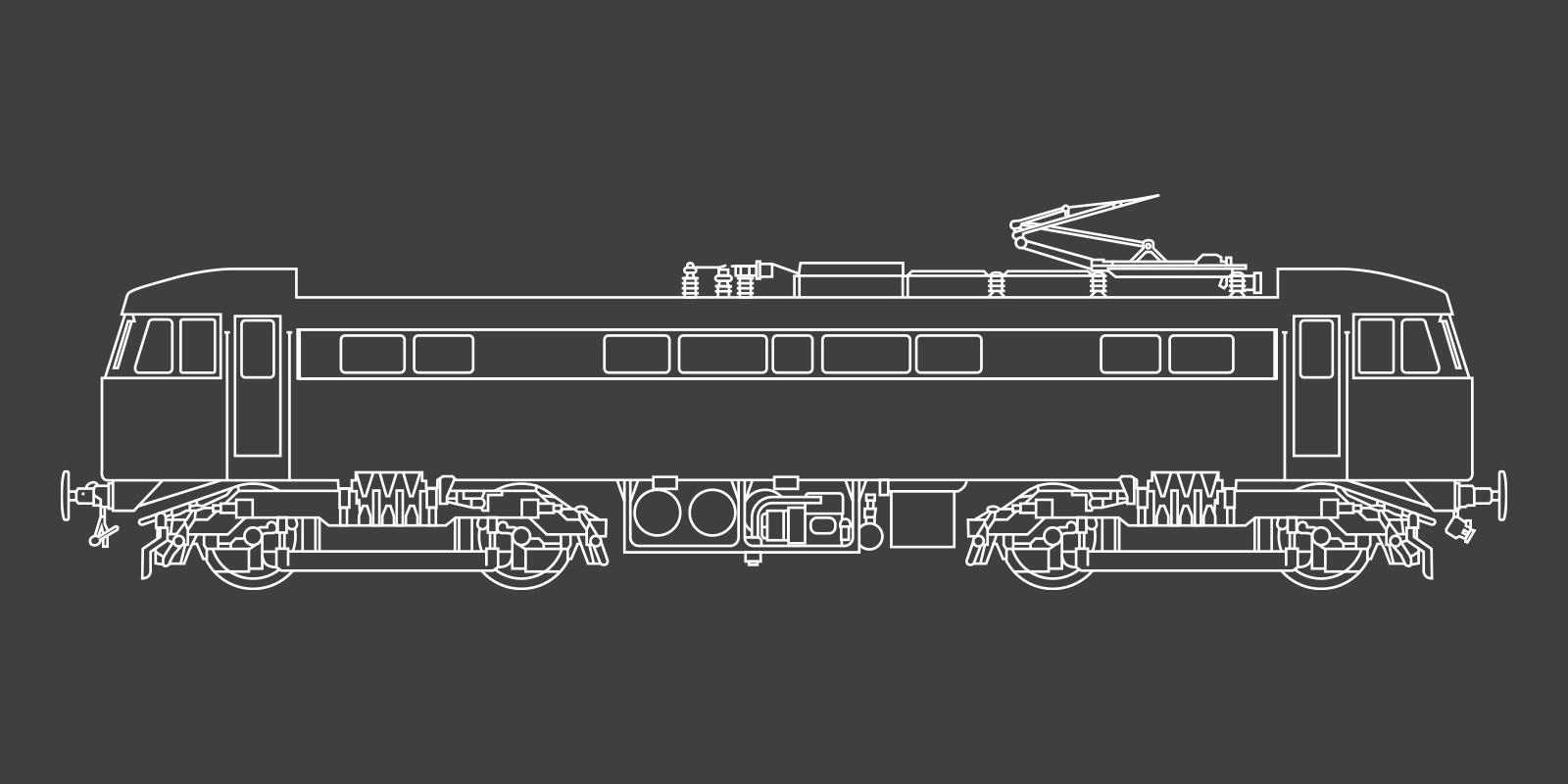 Class 86 Locomotive
