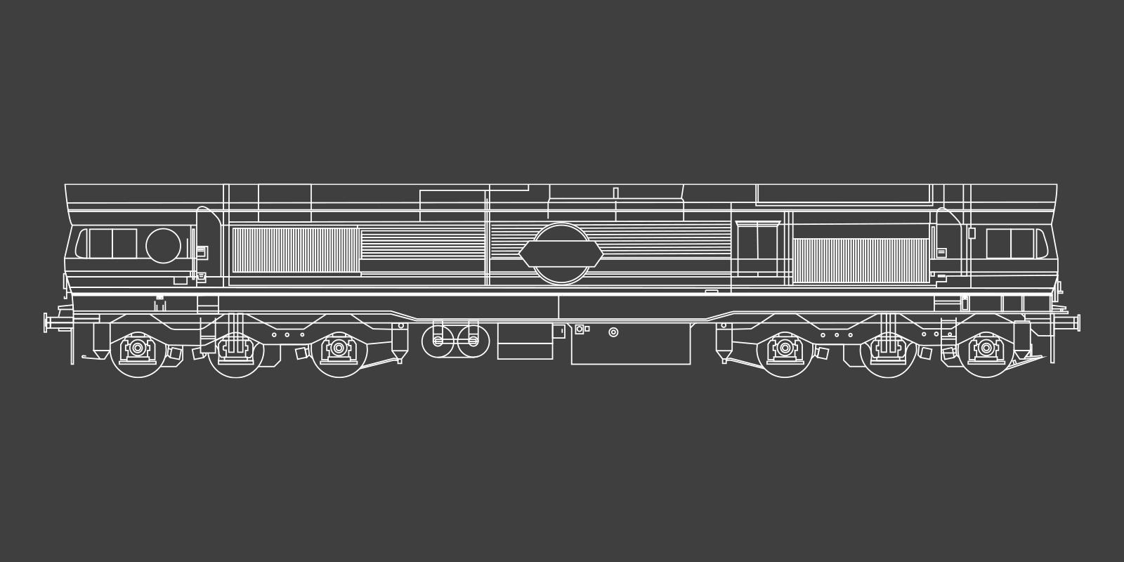 Class 59 Locomotive