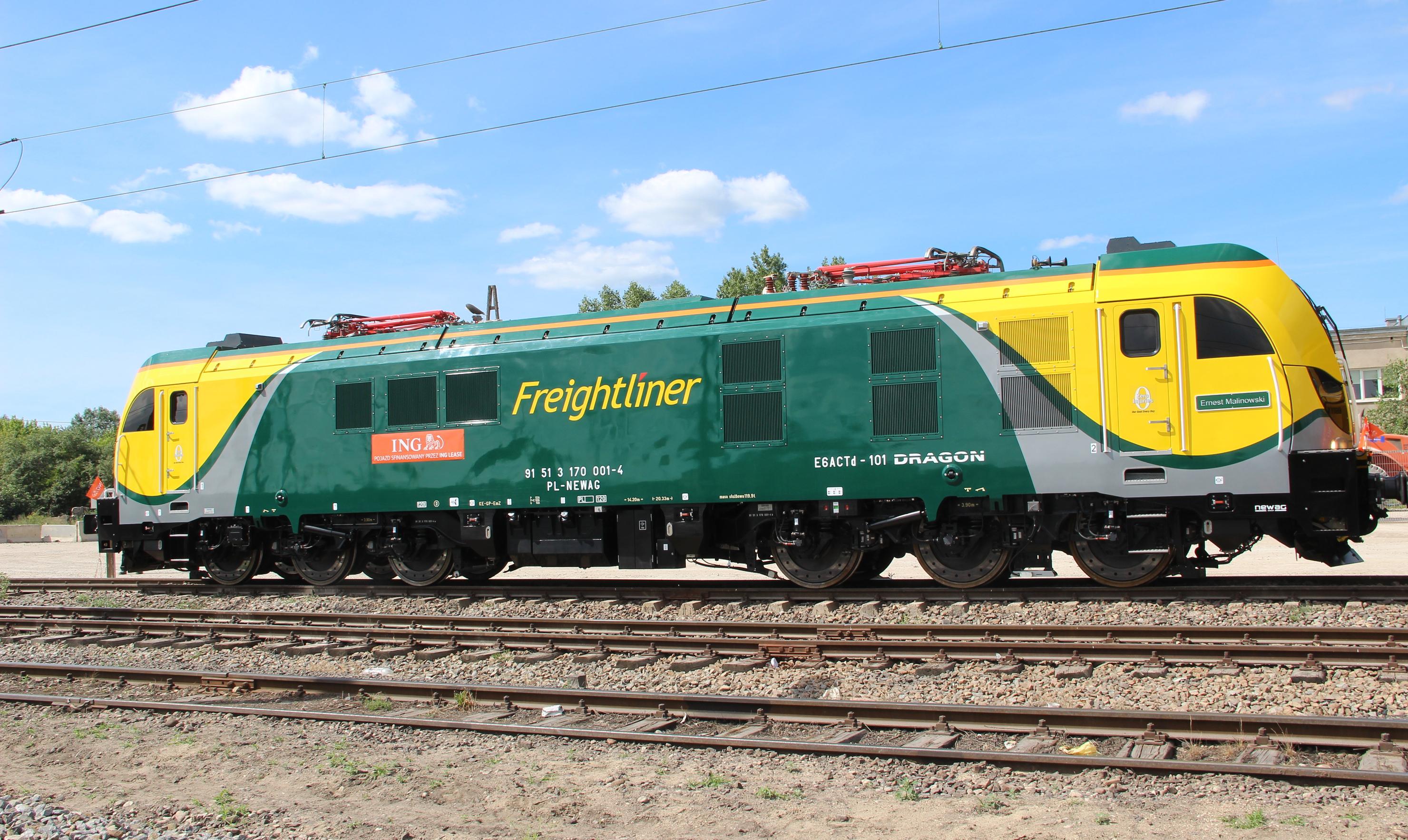 2007 - Freightliner Poland commences service